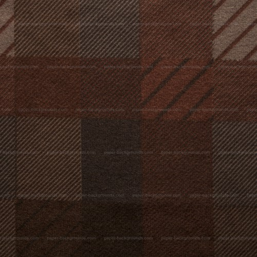 Dark Brown Plaid Fabric Texture