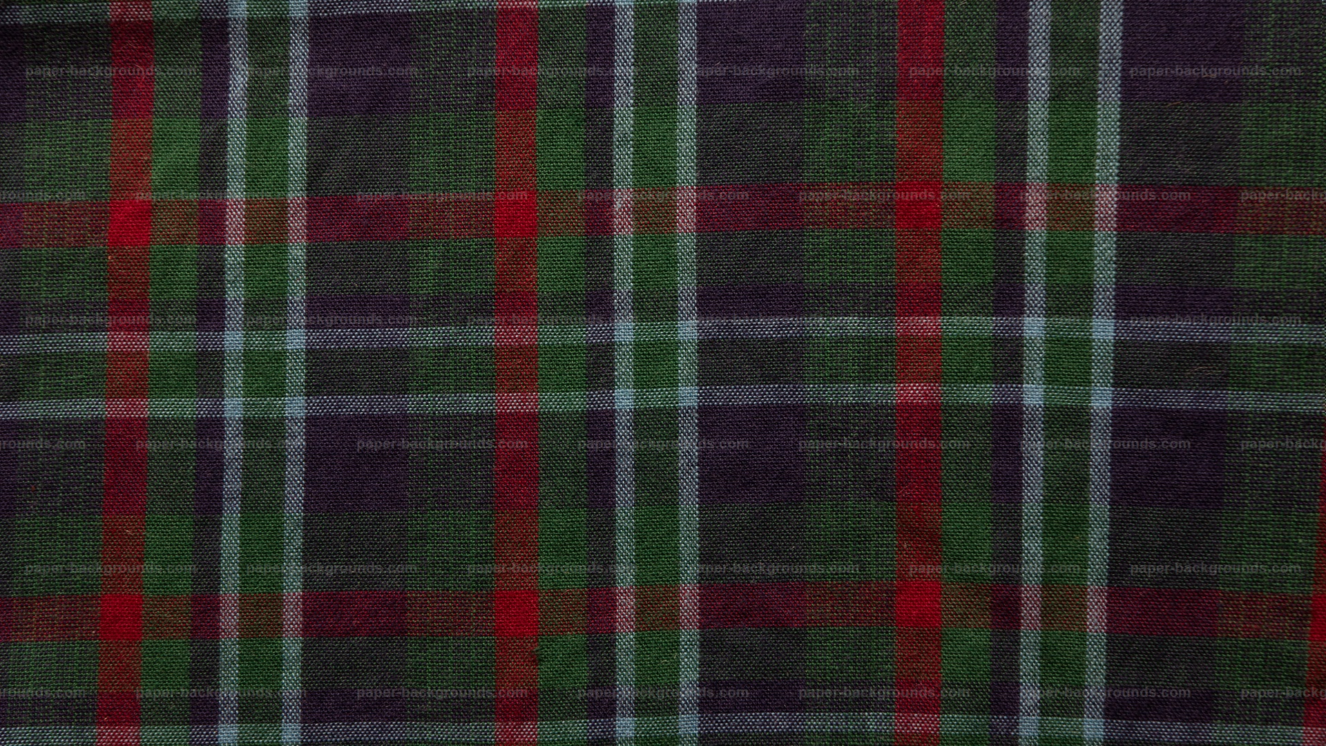 Dark Plaid Fabric Texture HD