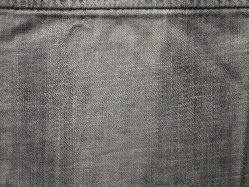 Gray Jeans Texture with Stitch