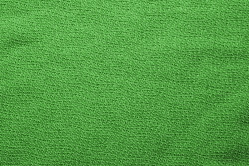 Green Fabric Material Texture