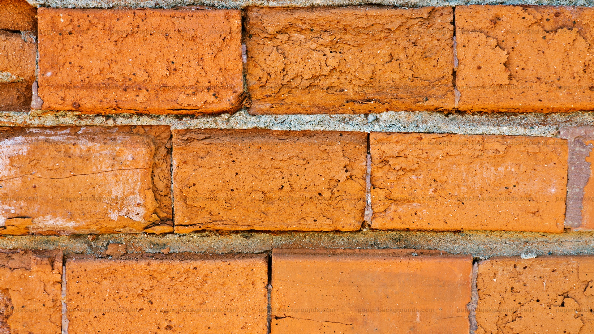 Old Brick Wall Close-up Texture Background HD