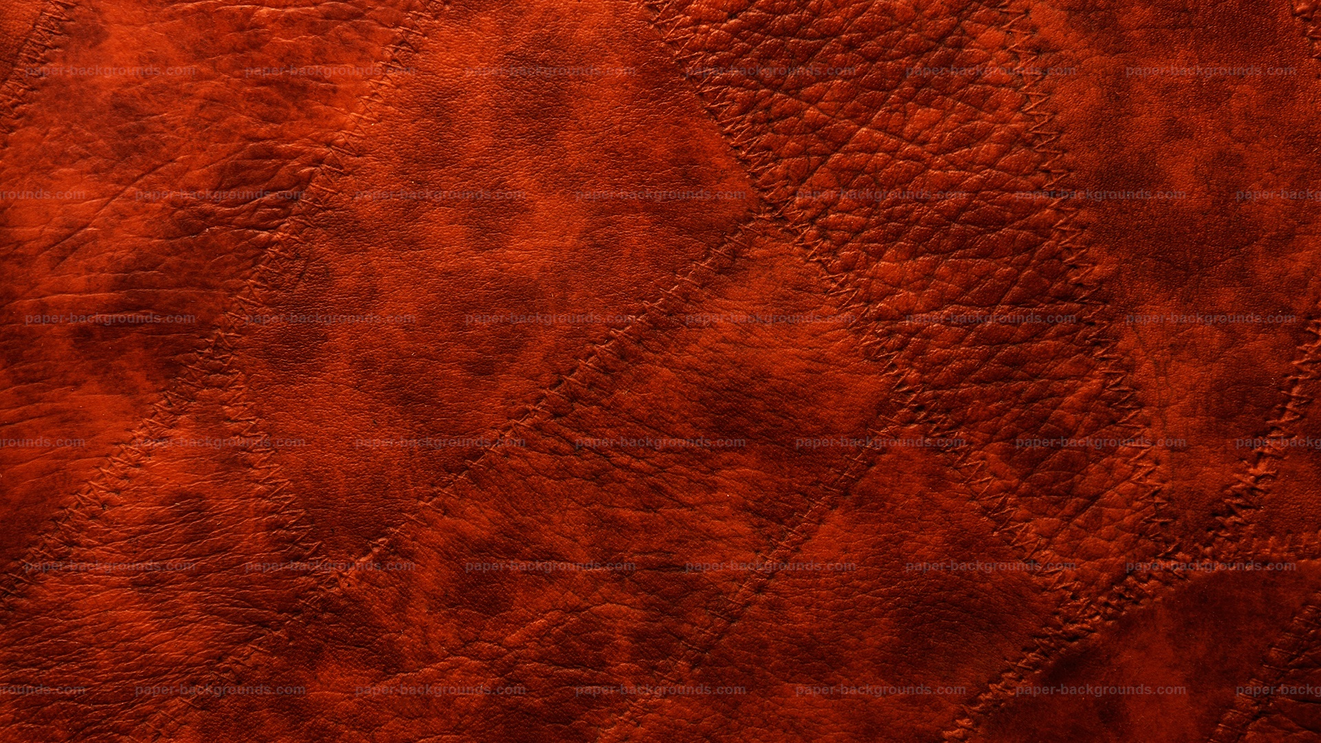 Paper Backgrounds Red Sewed Leather Patches Background Hd