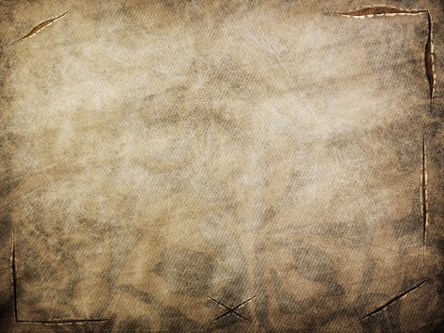 Vintage Brown Fabric Texture with Tears / cuts