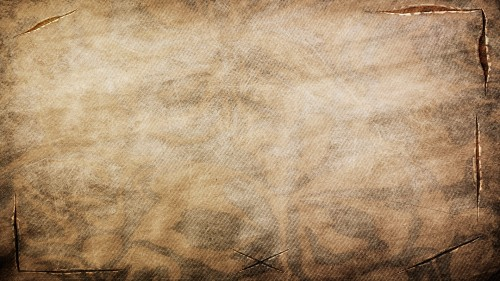 Vintage Brown Fabric Texture with Tears / cuts HD