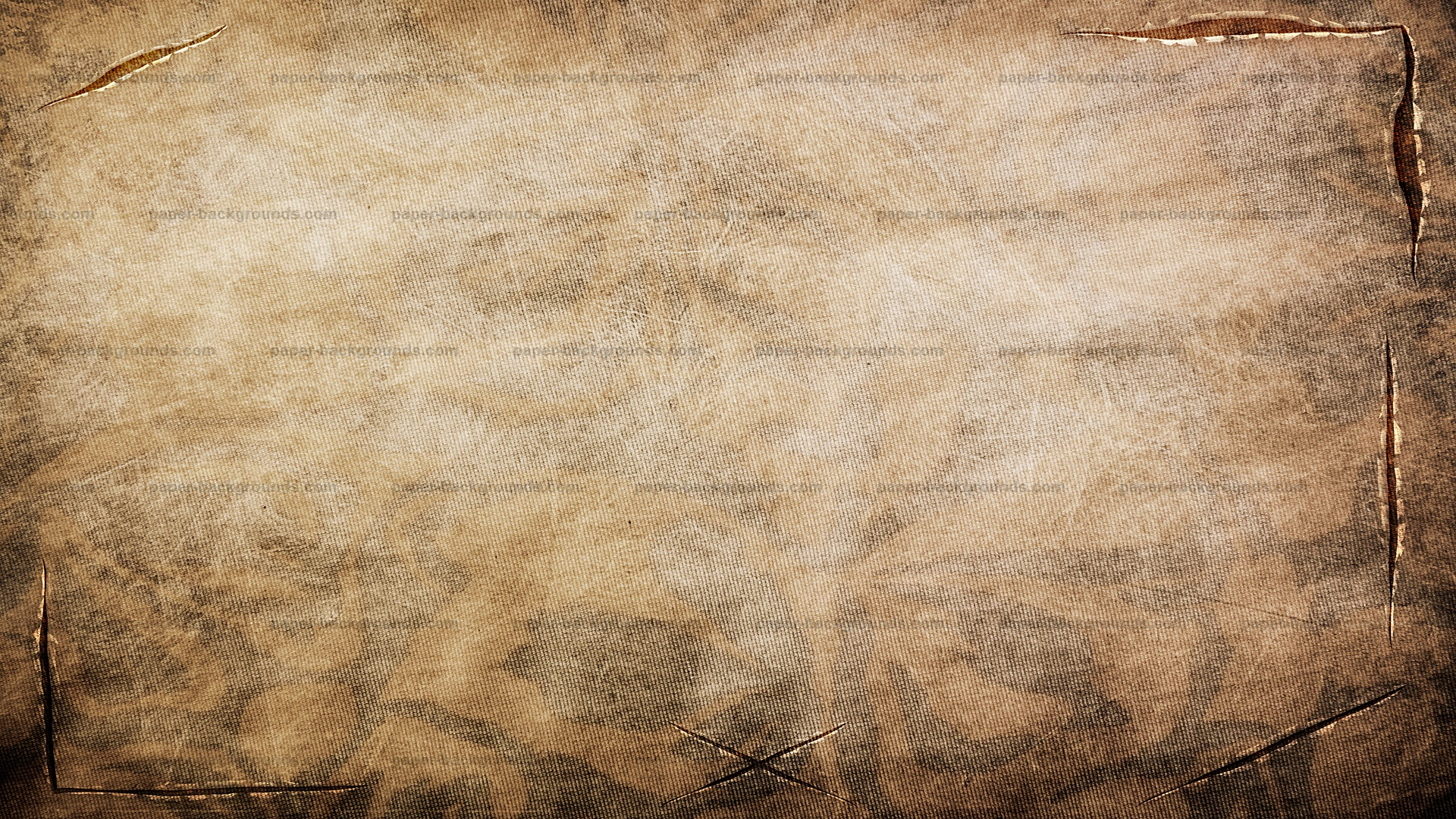 Vintage Brown Fabric Texture With Tears Cuts HD