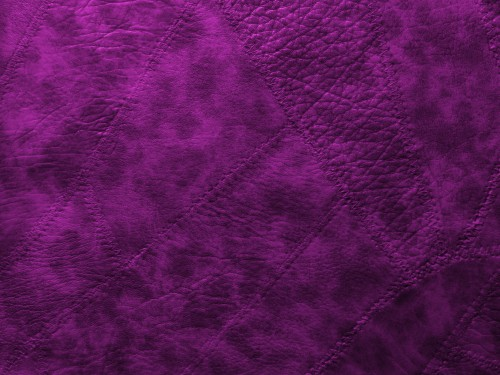 Violet Sewed Leather Patches Background