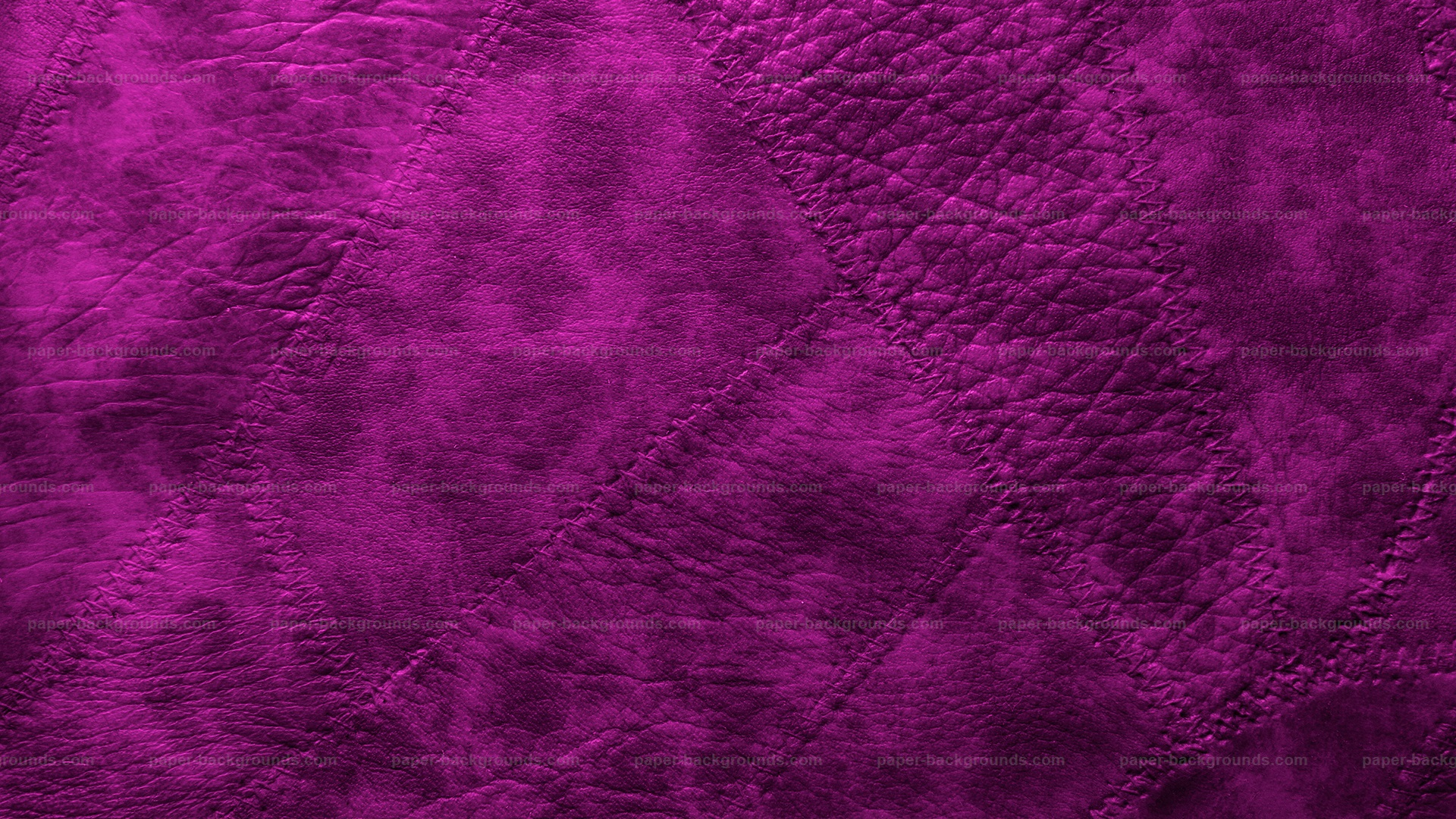 Purple Sewed Leather Patches Background HD