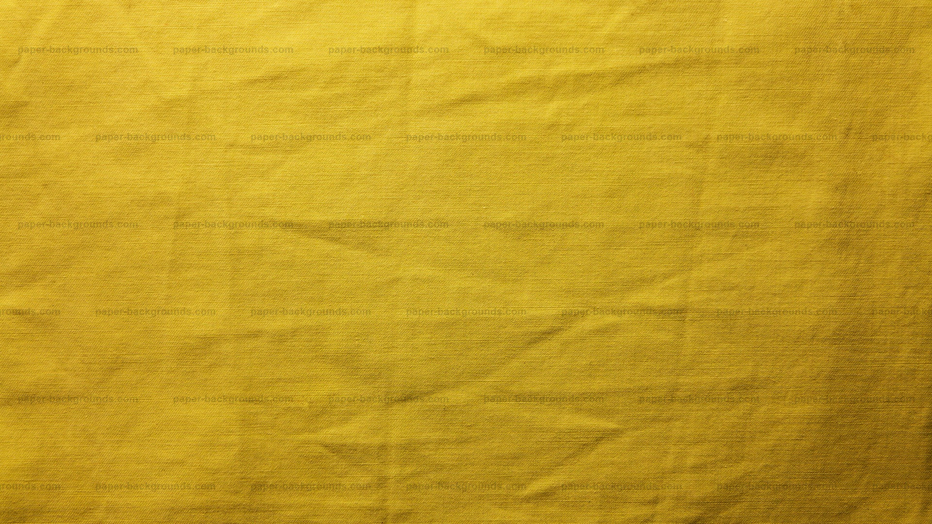 Yellow Crumpled Canvas Texture HD