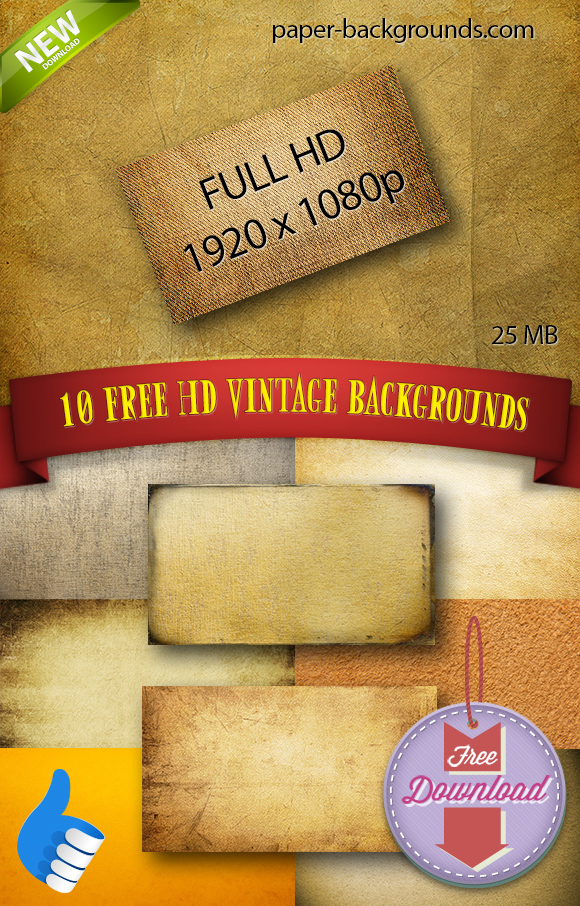 10 FREE Vintage Backgrounds and Textures