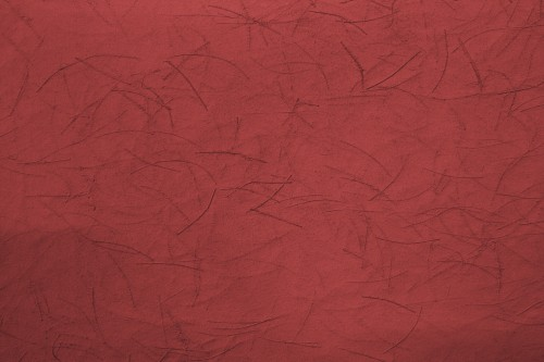 Red Scratched Wall Background