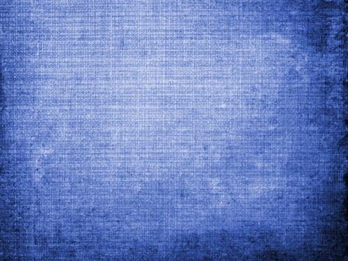 Vintage Blue Canvas Texture Background