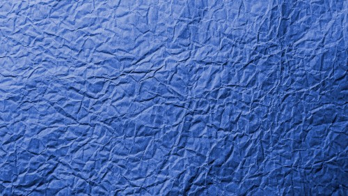 Blue Wrinkled Paper Texture Background HD 1920 x 1080p