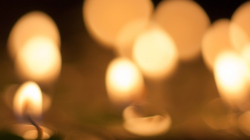 Candle Lights Bokeh HD 1920 x 1080p