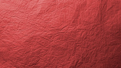 Red Wrinkled Paper Texture HD 1920 x 1080p