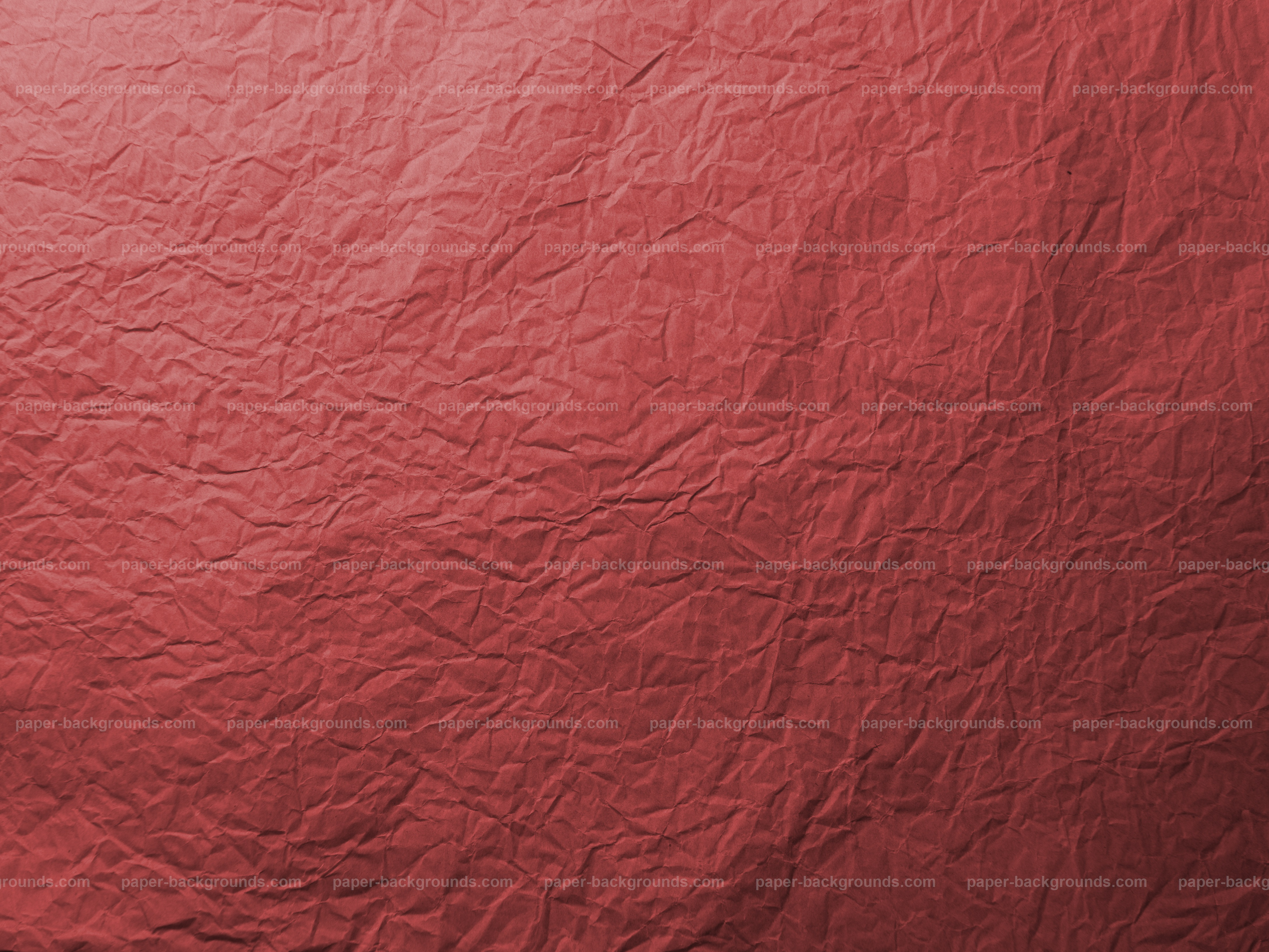 Paper Backgrounds | Red Wrinkled Paper Texture
