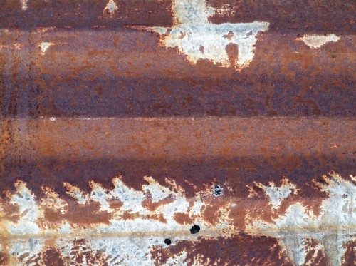 Old Rusty Metal Panel, High Resolution