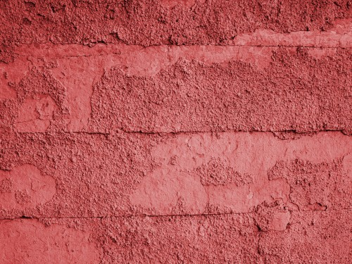Red Old Wall Texture, High Resolution