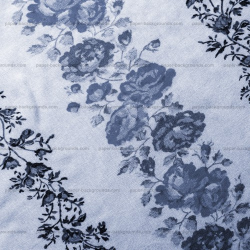 Vintage Floral Texture On Canvas, High Resolution