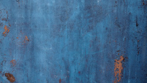 Blue Rusty Metal Background Texture HD 1920 x 1080p