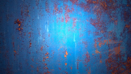 Grunge Rusty Blue Metal Background HD 1920 x 1080p