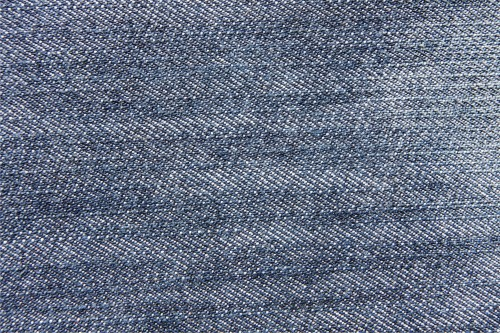 Vintage Blue Jeans Macro Texture, High Resolution