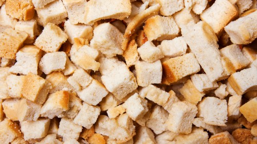 Bread Croutons Background HD 1920 x 1080p
