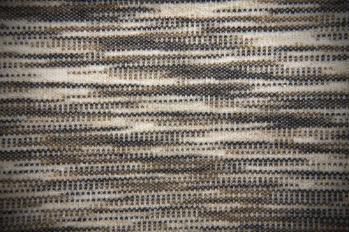Brown Horizontal Dotted Stripes Fabric Background Texture, High Resolution