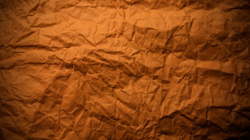 Wrinkled Brown Paper Texture Background HD 1920 x 1080p
