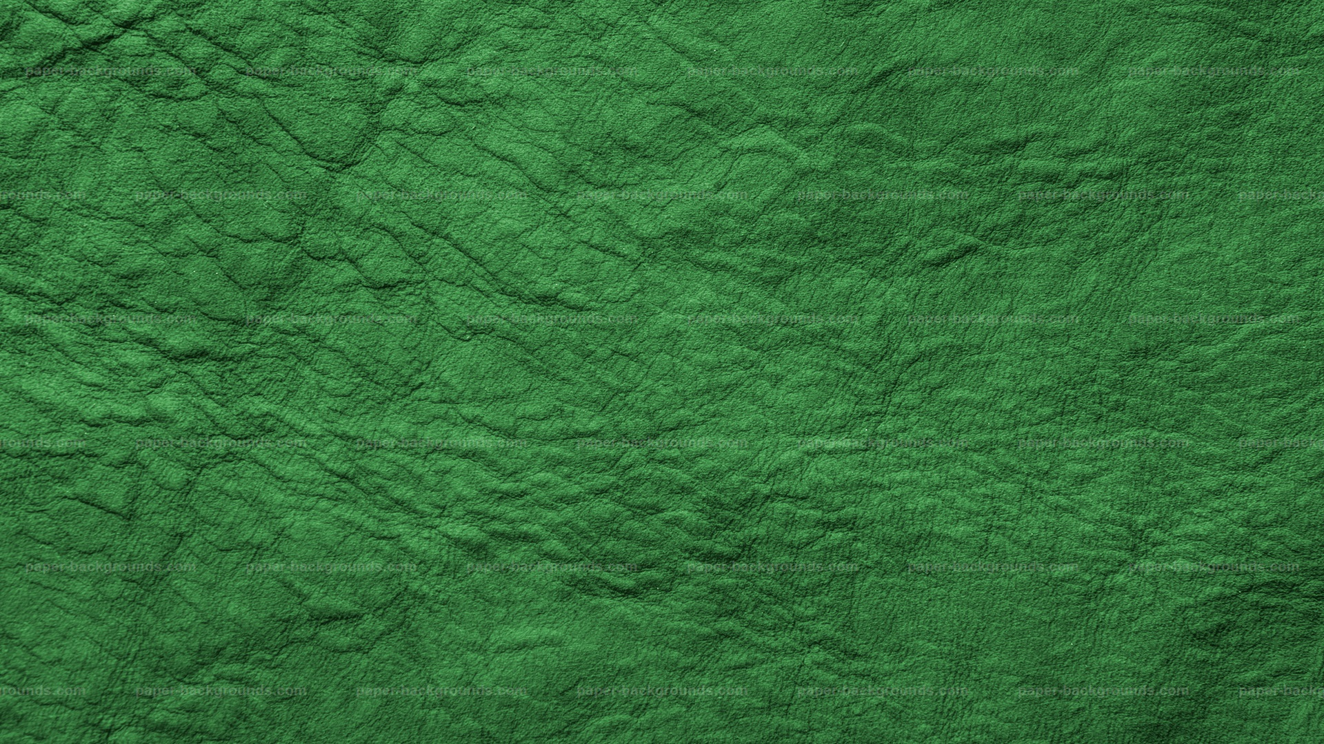 Paper Backgrounds | Green Wrinkled Soft Leather Texture