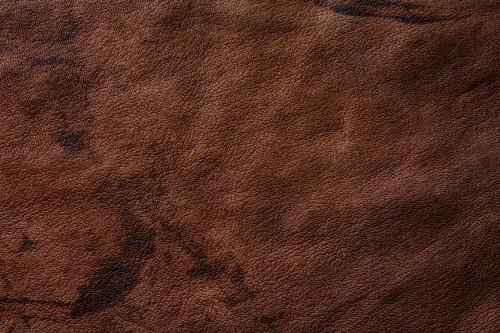 Grunge Brown Leather Texture, High Resolution