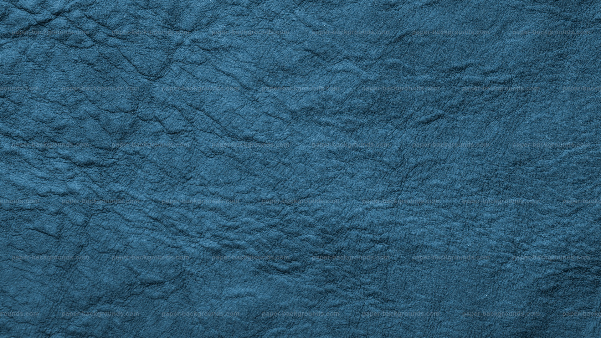 Paper Backgrounds Marine Blue Wrinkled Leather Background