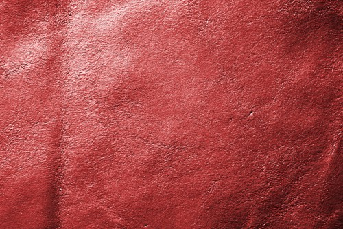 Red Shinny Leather Texture, High Resolution