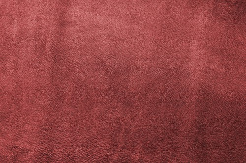 Red Soft Leather Texture Background, High Resolution