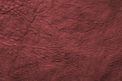 Red Wrinkled Antique Soft Leather Texture, High Resolution