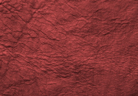 Red Wrinkled Antique Soft Leather Texture