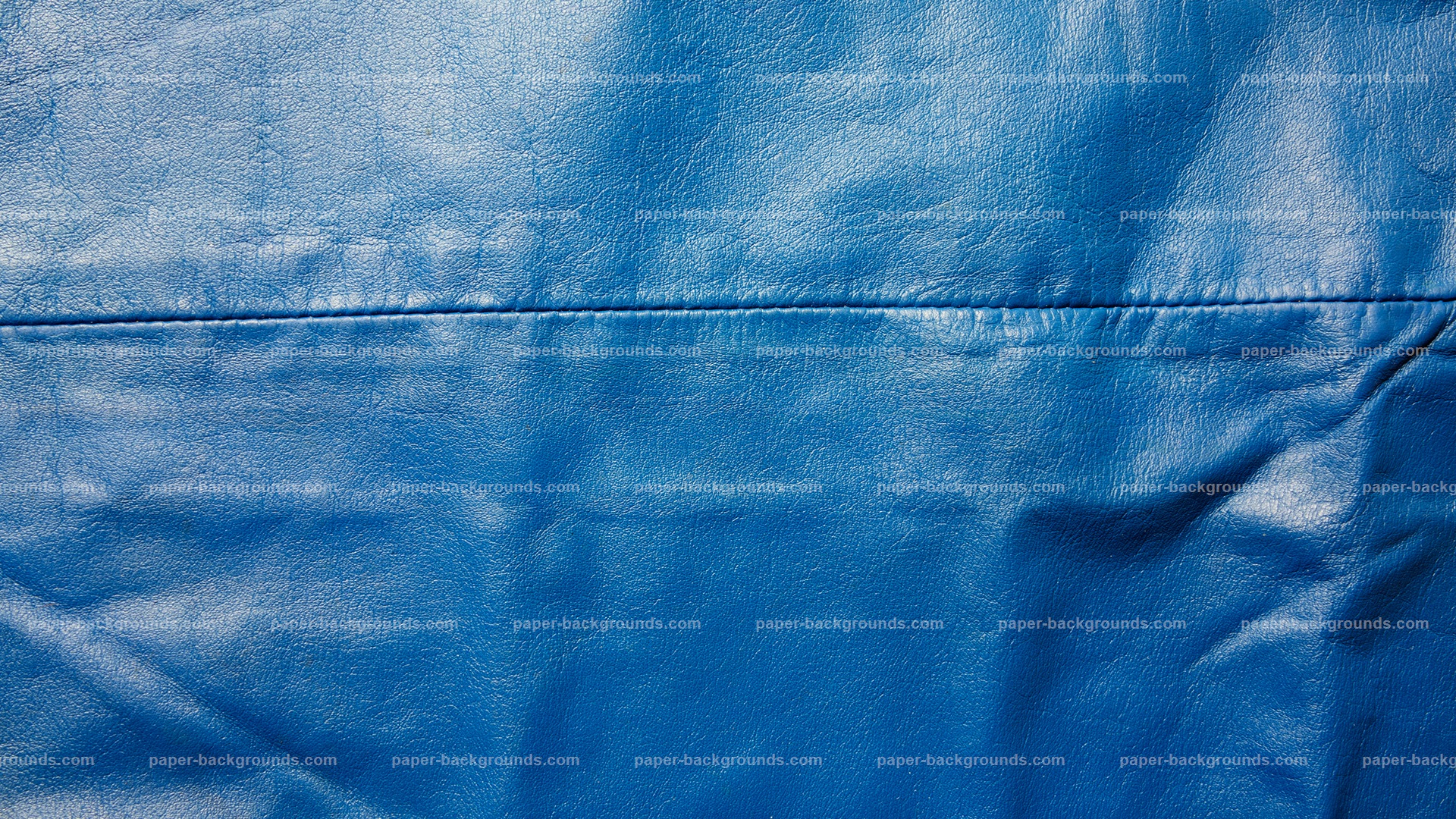 Sewed Blue Leather Texture HD 1920 x 1080p