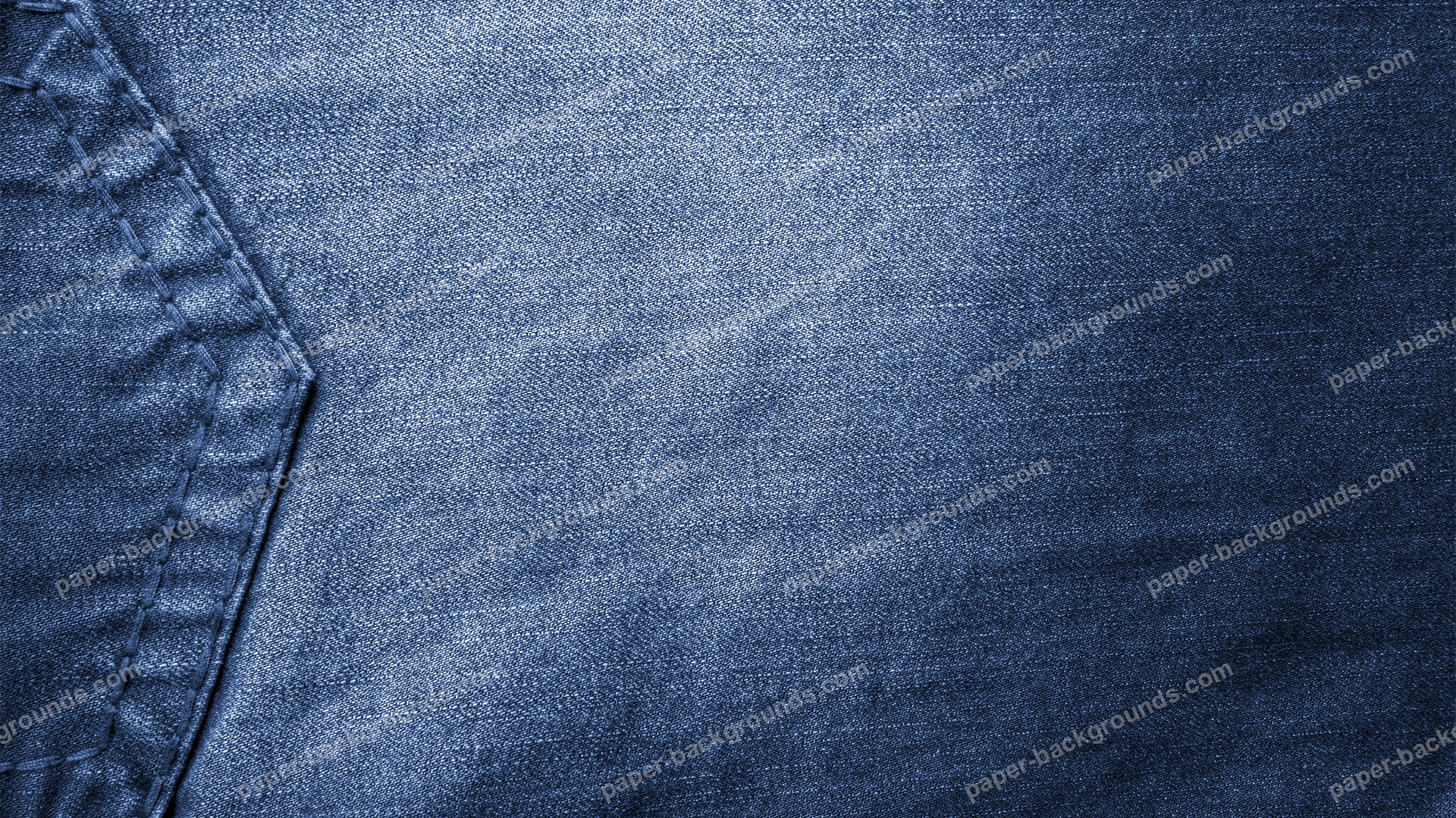 Vintage Blue Jeans With Pocket Background HD 1920 x 1080p