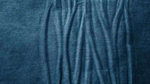 Wrinkled Blue Jeans Texture HD 1920 x 1080p