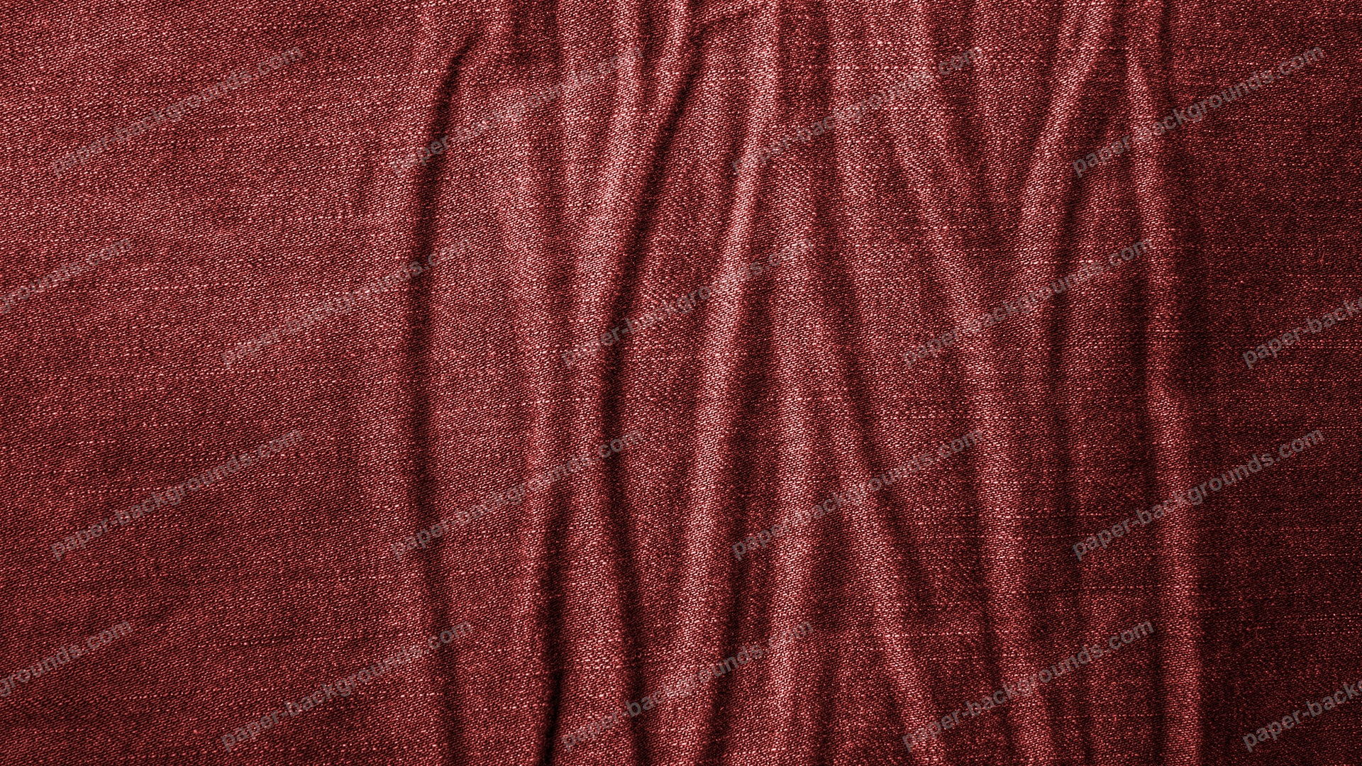 Wrinkled Red Jeans Texture HD 1920 x 1080p