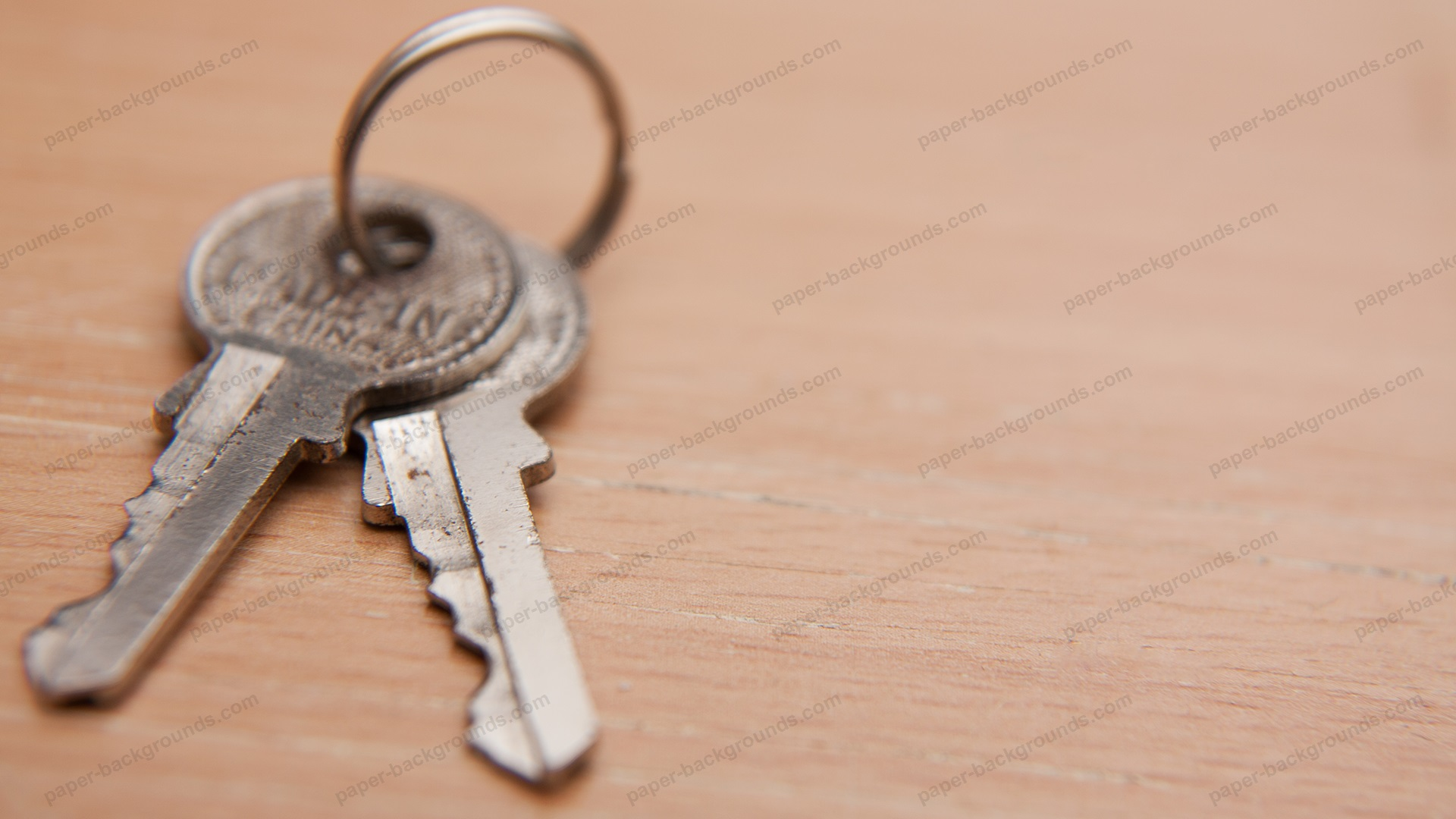 Keys On Table Background HD 1920 x 1080p