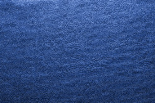 Abstract Blue Leather Background, High Resolution