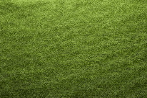 Abstract Green Leather Background, High Resolution