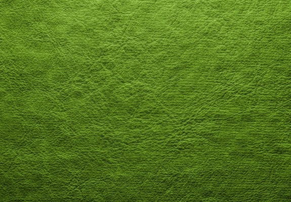 Abstract Green Leather Background