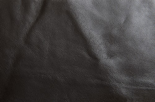 Black Leather Texture, High Resolution