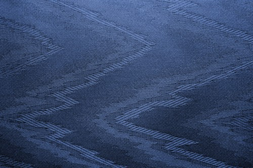 Blue Canvas With Zigzag Pattern, High Resolution