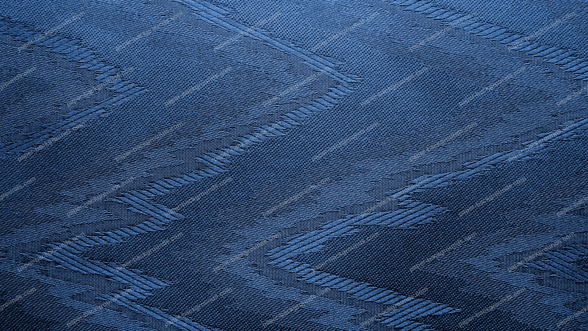 Blue Canvas With Zigzag Pattern HD 1920 x 1080p