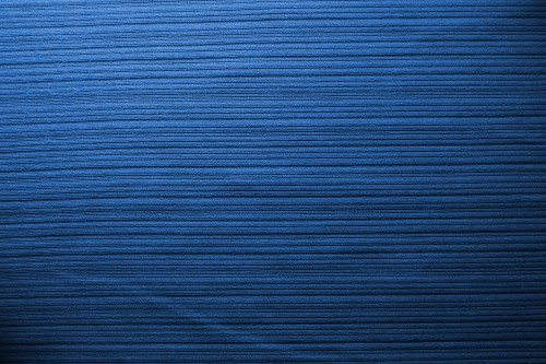 Blue Fabric Background With Stripes, High Resolution