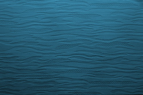 Blue Fabric Background With Waves, High Resolution