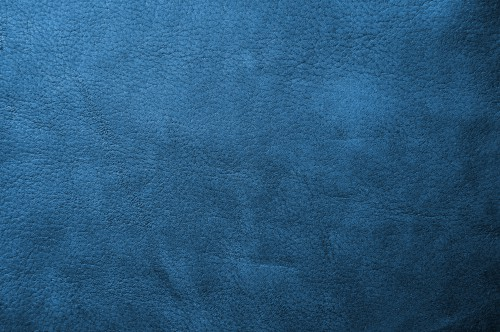 Blue Leather Texture Background, High Resolution