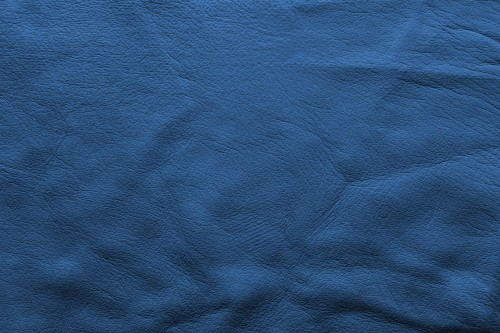 Blue Vintage Soft Leather Background, High Resolution